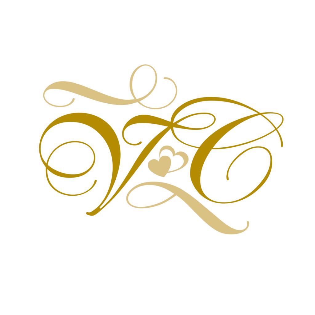 Monogram til bryllup