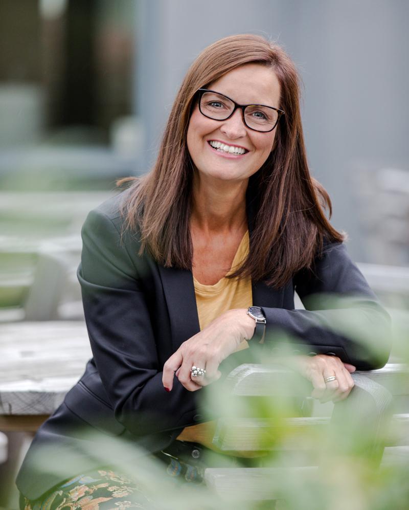 Marlene Grønlund grafisk designer og projektleder